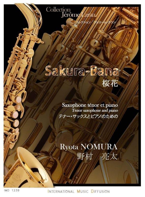 Sakura-Bana - Ryota Nomura - Partition - Saxophone - laflutedepan.com