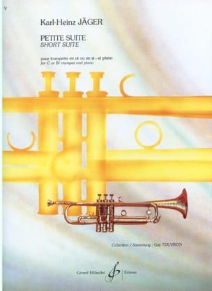 Petite Suite Karl-Heinz Jäger Partition Trompette - laflutedepan