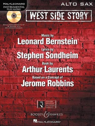 West Side Story BERNSTEIN Partition Saxophone - laflutedepan
