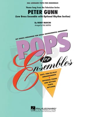 Peter Gunn - Pops For Ensemble MANCINI Partition laflutedepan