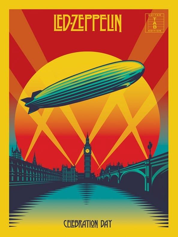 Celebration Day - Led Zeppelin - Partition - laflutedepan.com