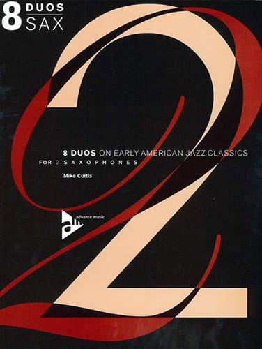 8 Duos on Early American Jazz Classics For 2 Saxophones - laflutedepan.com