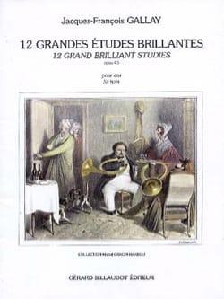 12 Grandes Etudes Brillantes - Opus 43 laflutedepan