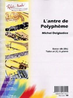 L'antre de Polyphème Michel Del Giudice Partition Tuba - laflutedepan