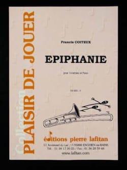 Epiphanie Francis Coiteux Partition Trombone - laflutedepan