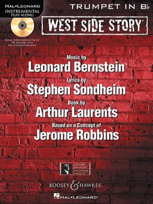 West Side Story BERNSTEIN Partition Trompette - laflutedepan