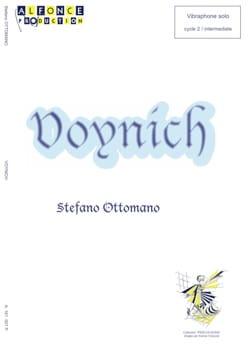 Voynich Stefano Ottomano Partition Vibraphone - laflutedepan