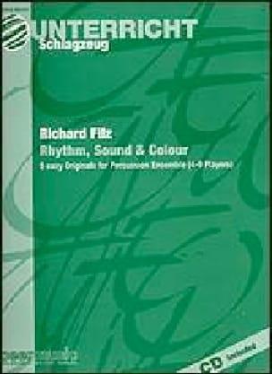 Rhythm, Sound & Colour - Richard Filz - Partition - laflutedepan.com
