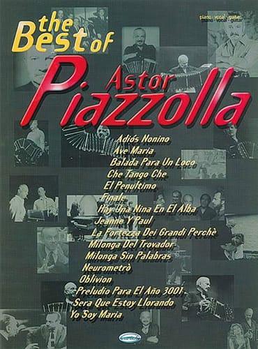The best of Astor Piazzolla - Astor Piazzolla - laflutedepan.com