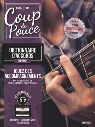 Dictionnaire d'Accords Guitare COUP DE POUCE Partition laflutedepan