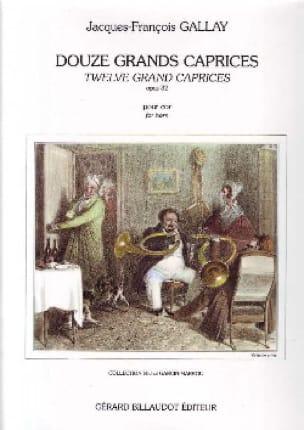 12 Grands Caprices Garcin-Marrou Opus 32 - laflutedepan.com