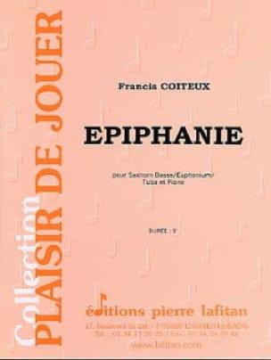 Epiphanie - Francis Coiteux - Partition - Tuba - laflutedepan.com