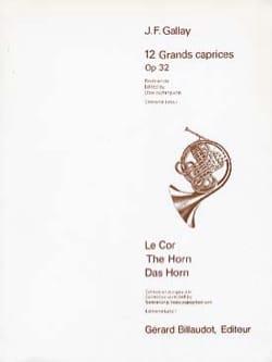 12 Grands Caprices Opus 32 Jacques-Francois Gallay laflutedepan