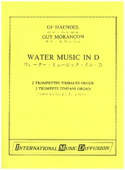 Water Music in D HAENDEL Partition Trompette - laflutedepan