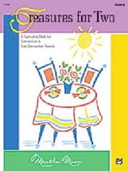Treasures for Two Book 2 Martha Mier Partition Piano - laflutedepan