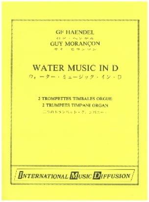 Water Music in D - HAENDEL - Partition - Trompette - laflutedepan.com
