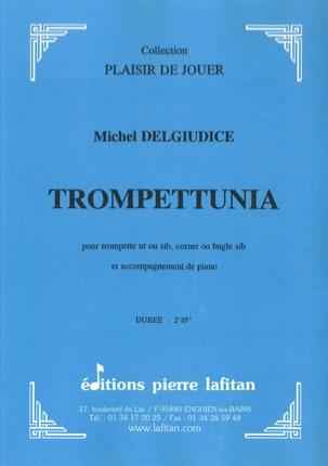 Trompettunia Michel Del Giudice Partition Trompette - laflutedepan