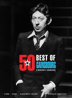 50 Best Of - Gainsbourg Serge Gainsbourg Partition laflutedepan