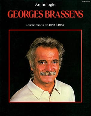 Georges Brassens - Anthology Volume 1 1952-1957 - Partition - di-arezzo.co.uk