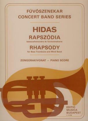 Rhapsody Frigyes Hidas Partition Trombone - laflutedepan