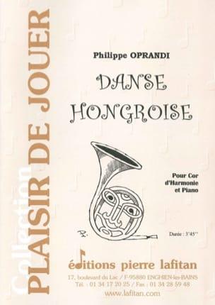 Danse Hongroise Philippe Oprandi Partition Cor - laflutedepan