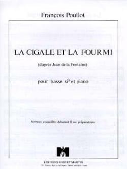 La Cigale Et la Fourmi François Poullot Partition Tuba - laflutedepan