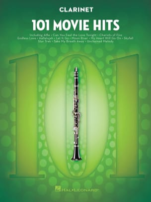 101 Movie Hits - Clarinette Partition Clarinette - laflutedepan