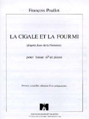 La Cigale Et la Fourmi - François Poullot - laflutedepan.com