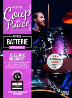Méthode Batterie Débutant Volume 2 COUP DE POUCE laflutedepan