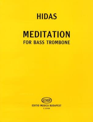 Meditation Frigyes Hidas Partition Trombone - laflutedepan