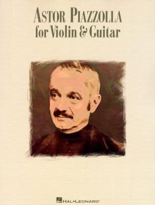 Astor Piazzolla for violin & guitar Astor Piazzolla laflutedepan