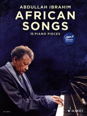 African songs - 15 Piano pieces Abdullah Ibrahim laflutedepan