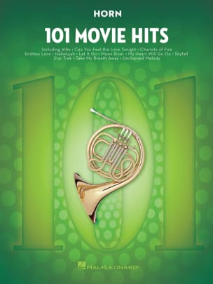 101 Movie Hits For Horn Partition Cor - laflutedepan
