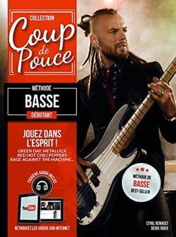 Méthode Basse Débutant COUP DE POUCE Partition Guitare - laflutedepan