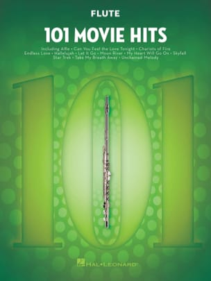 101 Movie Hits For Flute Partition Flûte traversière - laflutedepan
