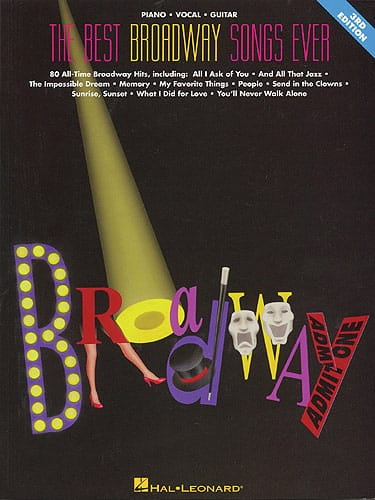 The Best Broadway Songs Ever - 6th edition - laflutedepan.com