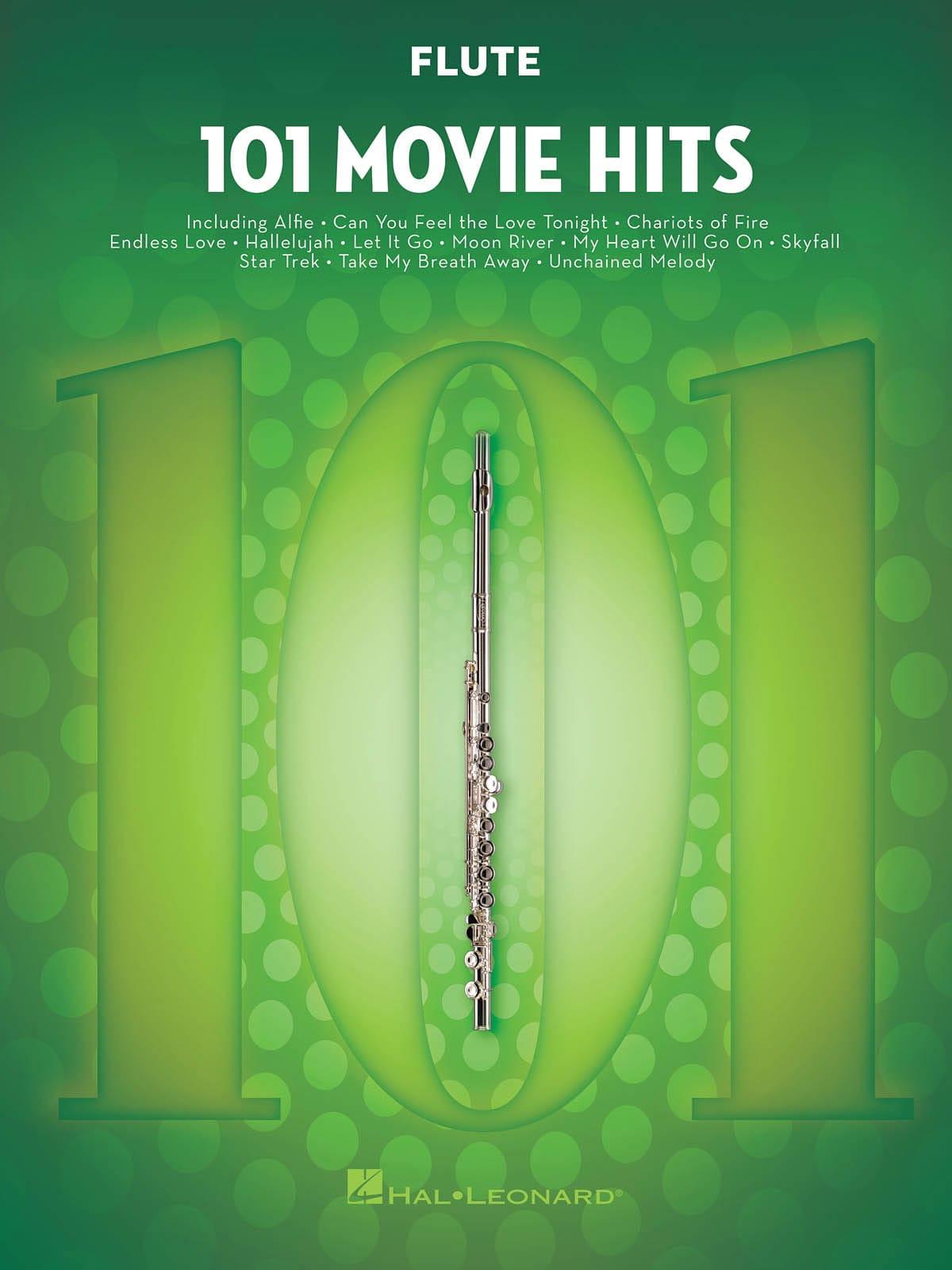 101 Movie Hits - Flûte - Partition - laflutedepan.com