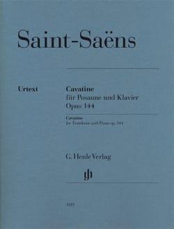 Cavatine Opus 144 - Urtext SAINT-SAËNS Partition laflutedepan