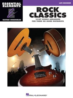Rock classics - 15 Hits arranged for three or more guitarists laflutedepan