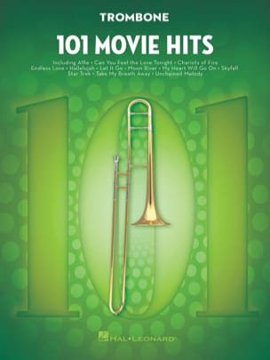 101 Movie Hits - Trombone Partition Trombone - laflutedepan