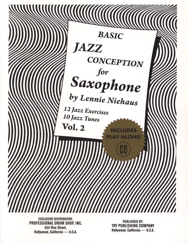 Basic Jazz Conception For Saxophone - Volume 2 - laflutedepan.com