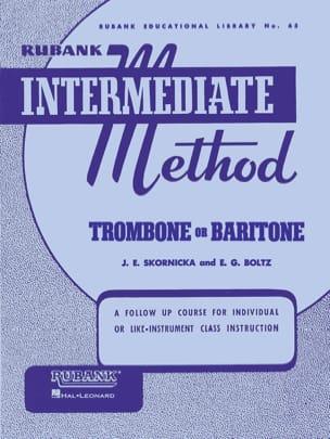 Rubank Intermediate Method Trombone or Bariton laflutedepan