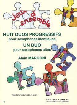 Huit Duos Progressifs Alain Margoni Partition Saxophone - laflutedepan