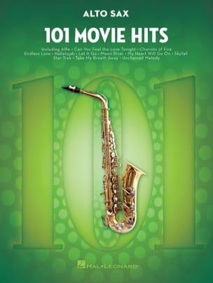101 Movie Hits - Saxophone Alto Partition Saxophone - laflutedepan
