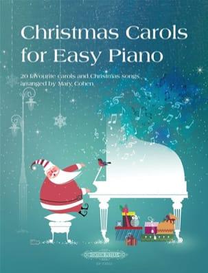 Christmas Carols for Easy Piano - Noël - Partition - laflutedepan.com