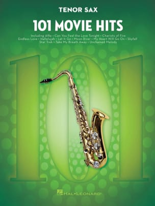 101 Movie Hits For Tenor Saxophone Partition laflutedepan