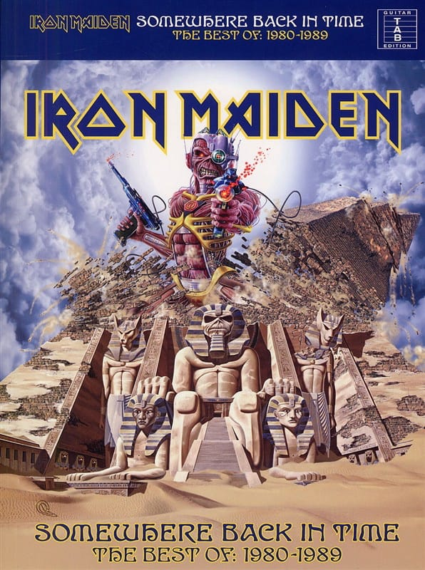 Somewhere Back In Time - Iron Maiden - Partition - laflutedepan.com