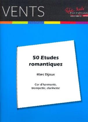 50 Etudes Romantiques Marc Dijoux Partition Cor - laflutedepan