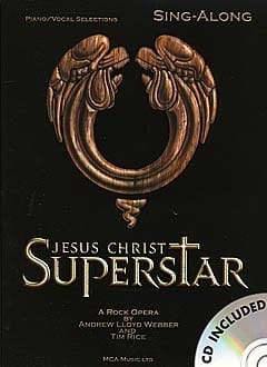 Jesus Christ Superstar Andrew Lloyd Webber Partition laflutedepan