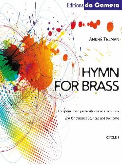 Hymn for brass André Telman Partition laflutedepan